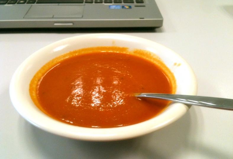 Paprika gember soep