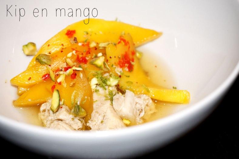 Kip en mango